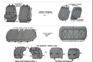 Установка автомобильных чехлов в СВАО