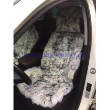 Меховая накидка на сиденье из кусковой Овчины (длинный ворс)