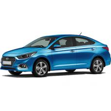 Чехлы на Hyundai Solaris 2017-2019 г.в (Автопилот)