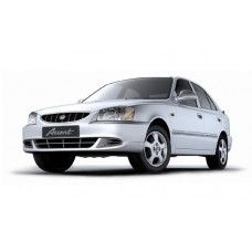 Авточехлы из Экокожи Hyundai Accent - Чехлы на Хендай Акцент