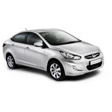 Чехлы на Hyundai Solaris седан 2010-2017 г.в (Автопилот)
