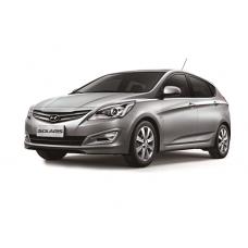 """Чехлы """"Автопилот"""" на Hyundai Solaris хэтчбек 2010-2017 г.в."""