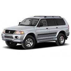 Авточехлы из Экокожи Mitsubishi Montero Sport - Чехлы Монтеро Спорт