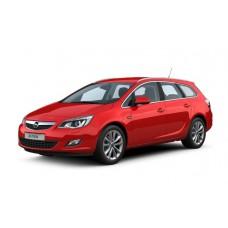Авточехлы из Экокожи Opel Astra J Универсал - Чехлы на Опель Астра J универсал