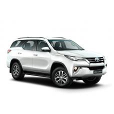 Чехлы на Toyota Fortuner c 2017-2018-2019-2020 г.в.