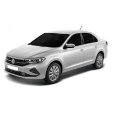 Чехлы на Volkswagen Polo лифтбек 2020-2021 г.в (Автопилот)