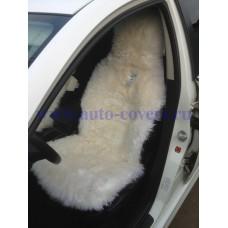 Меховая накидка на сиденье из Овчины длинный ворс (Австралия)