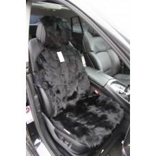 Накидка на сиденье автомобиля из меха Енота