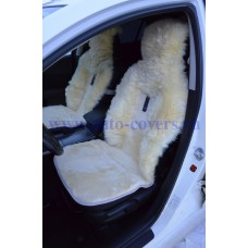 Комплект меховых накидок на сиденья Комбинированный ворс (Австралия)