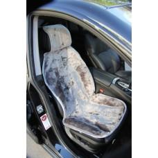 Накидка на сиденье автомобиля Мутон цельный (Россия, Пятигорск)